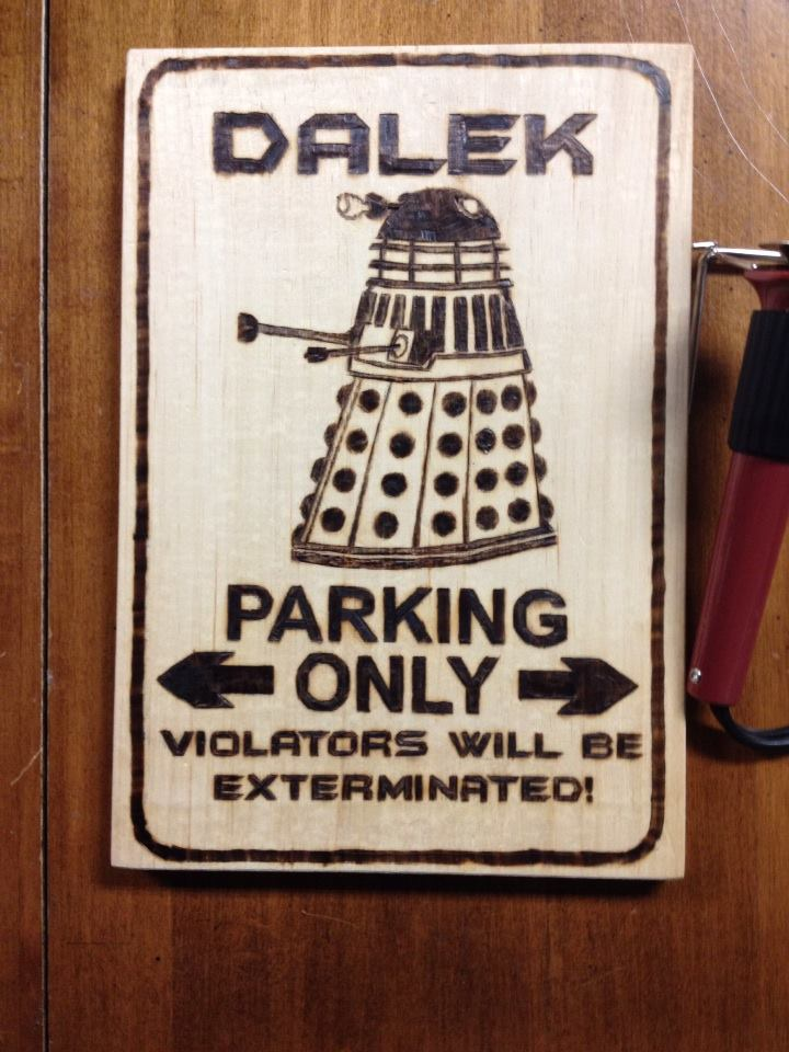 Dalek Parking Only! by rdekroon