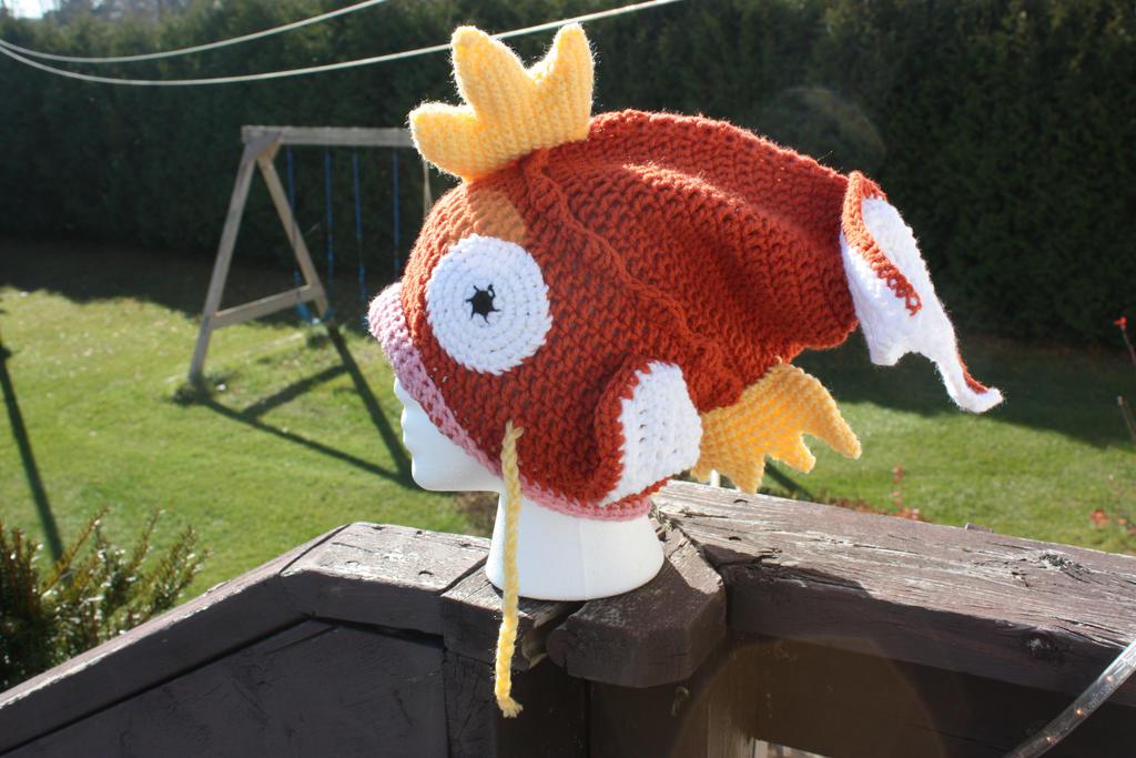 Magikarp Slouchy Hat by rdekroon