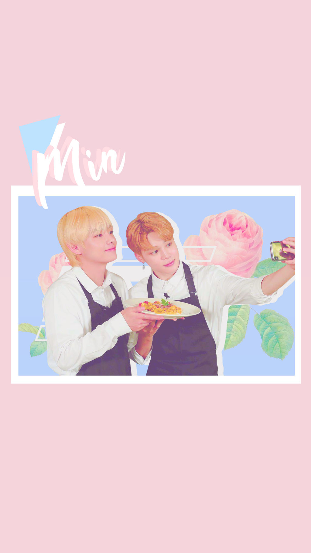 wallpaper  bts vmin by rainycupcake dcx39l4
