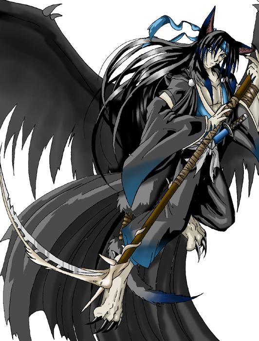 Tenmou, Angel of Death by akarui