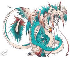 Jinchi: Lung of Wisdom by akarui
