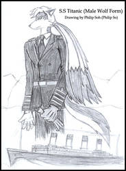 Anthro Titanic Concept Sketch by sojh85