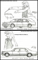 Philip and Benz 560SEL by sojh85