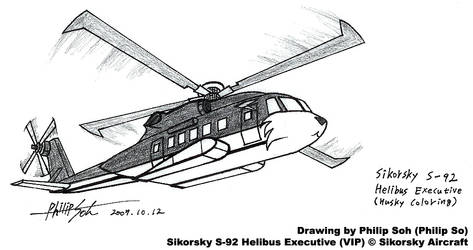 Canine Coloring Helicopter by sojh85