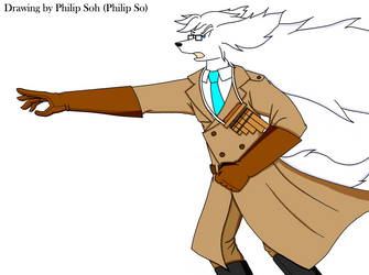 Cond. Philip's New Costume and Braveful Pose by sojh85