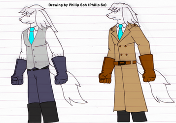 Cond. Philip's New Costume (Two Variations) by sojh85
