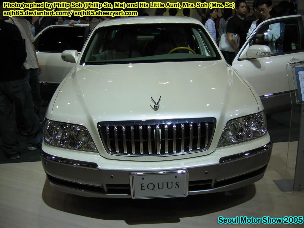 Motor Show Hyundai Equus 1 By Sojh85 On Deviantart