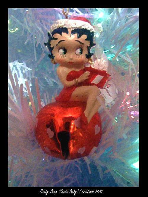 Betty Boop Ornament by Sweet-Blessings