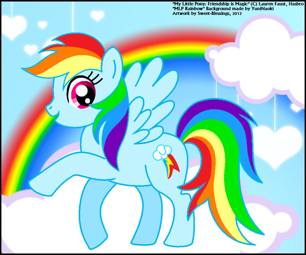 My Little Pony Rainbow Dash By Sweet Blessings