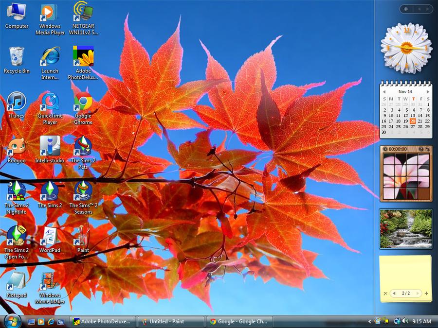 Autumn 2014 Desktop by Sweet-Blessings