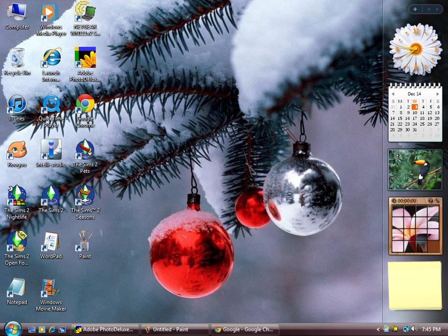 Christmas Desktop 2014 by Sweet-Blessings