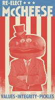 Re-elect McCheese by droo31