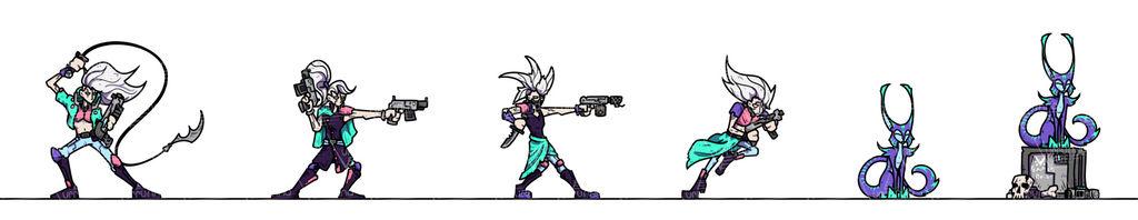 OPR Paper Minis: Gang Wars Femmes