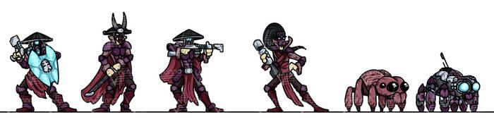 OPR Paper Minis: Gang Wars Artisans