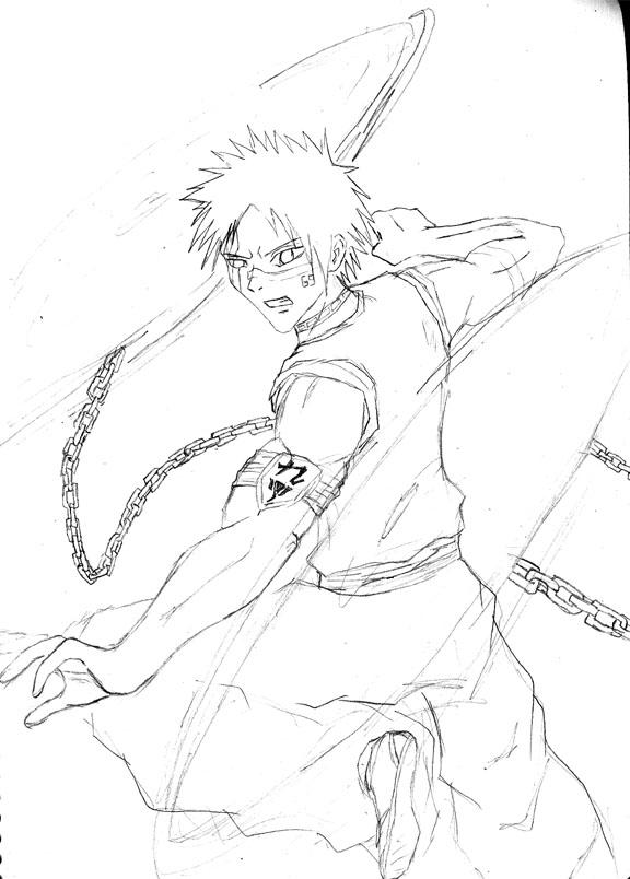 hisagi shuhei sketch by svil3