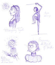 Song of Ice and Fire characters 6 by Hanussen