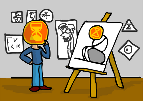 Exhibiton of modern art