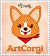stamp Artcorgi by shintayu-art