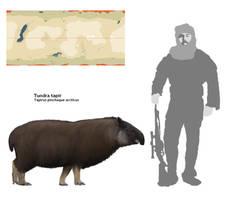 Tundra tapir by Adamsaurus02