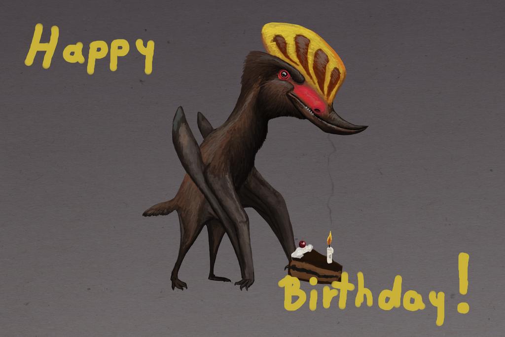 Happy birthday, Dusky! by Adamsaurus02
