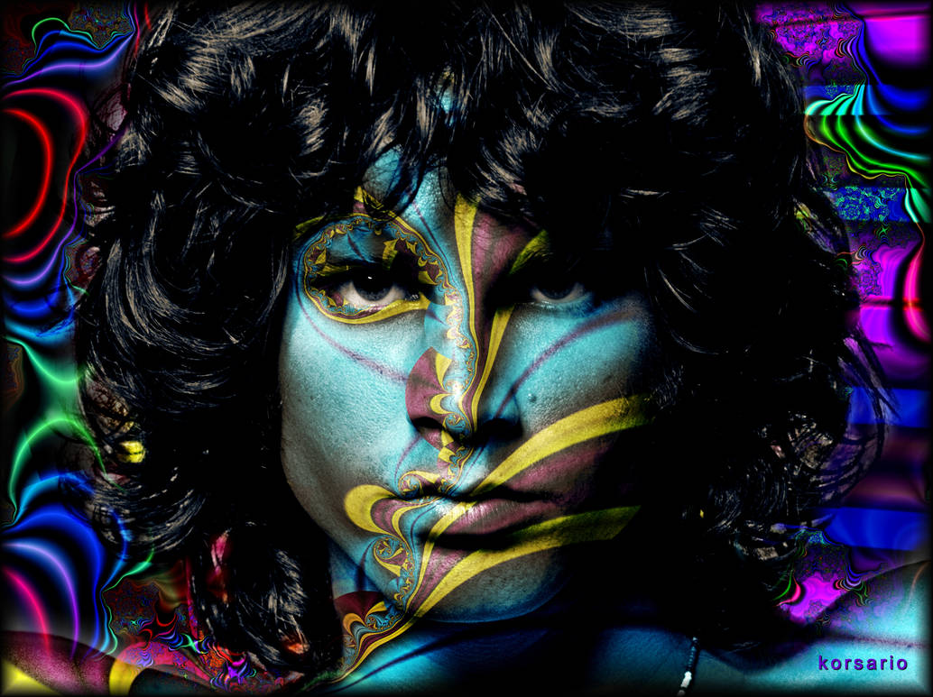 The spirit of Jim Morrison by ivankorsario