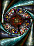 Fold rotational circle