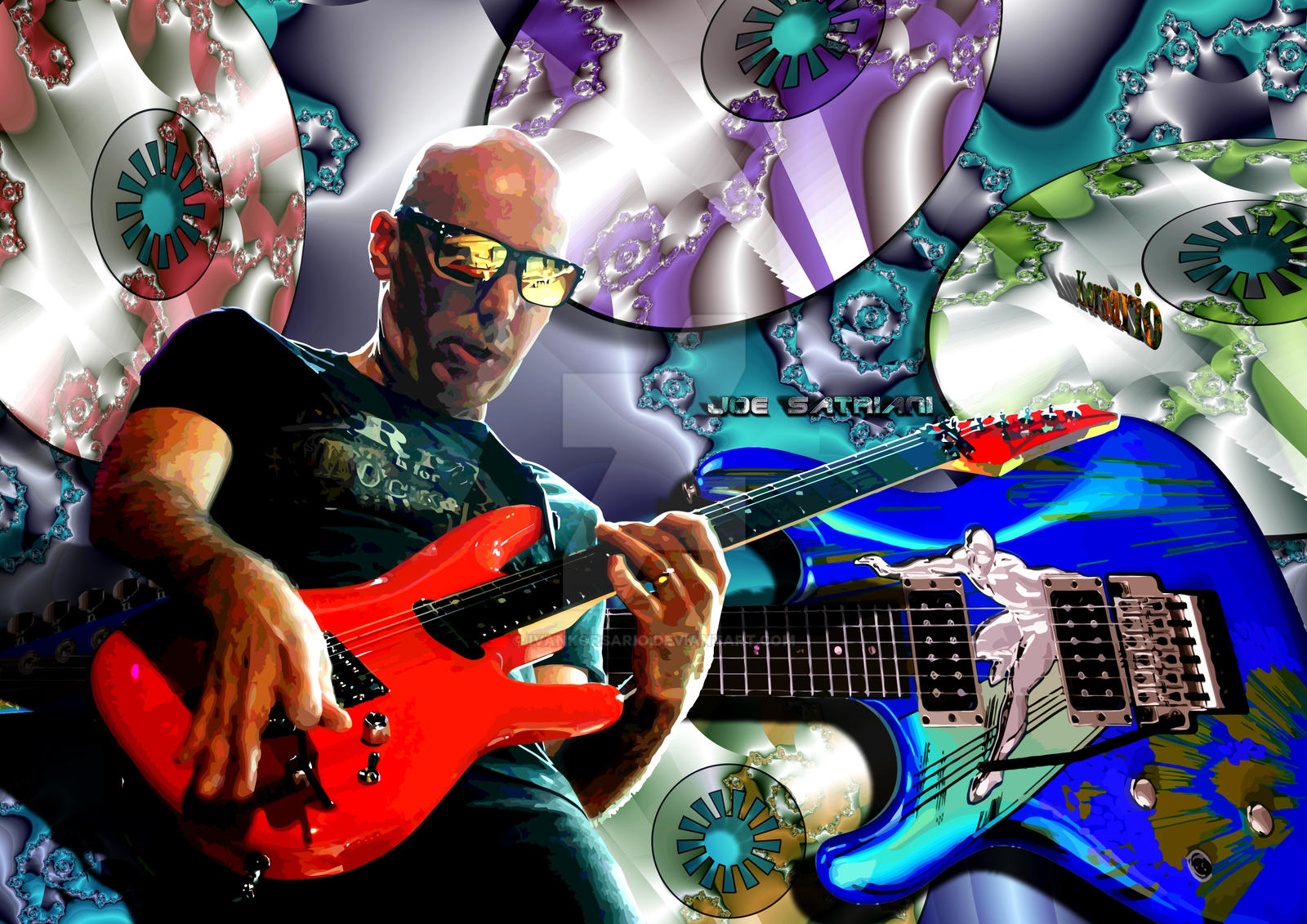 Joe Satriani by ivankorsario
