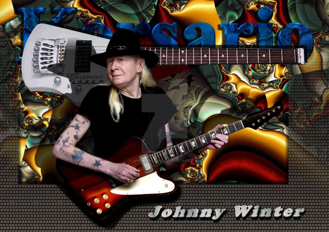 Johnny Winter By Ivankorsario On DeviantArt