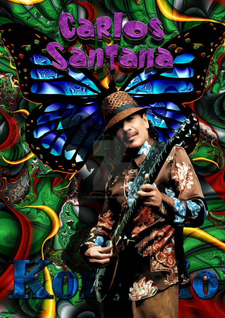 Carlos Santana by ivankorsario