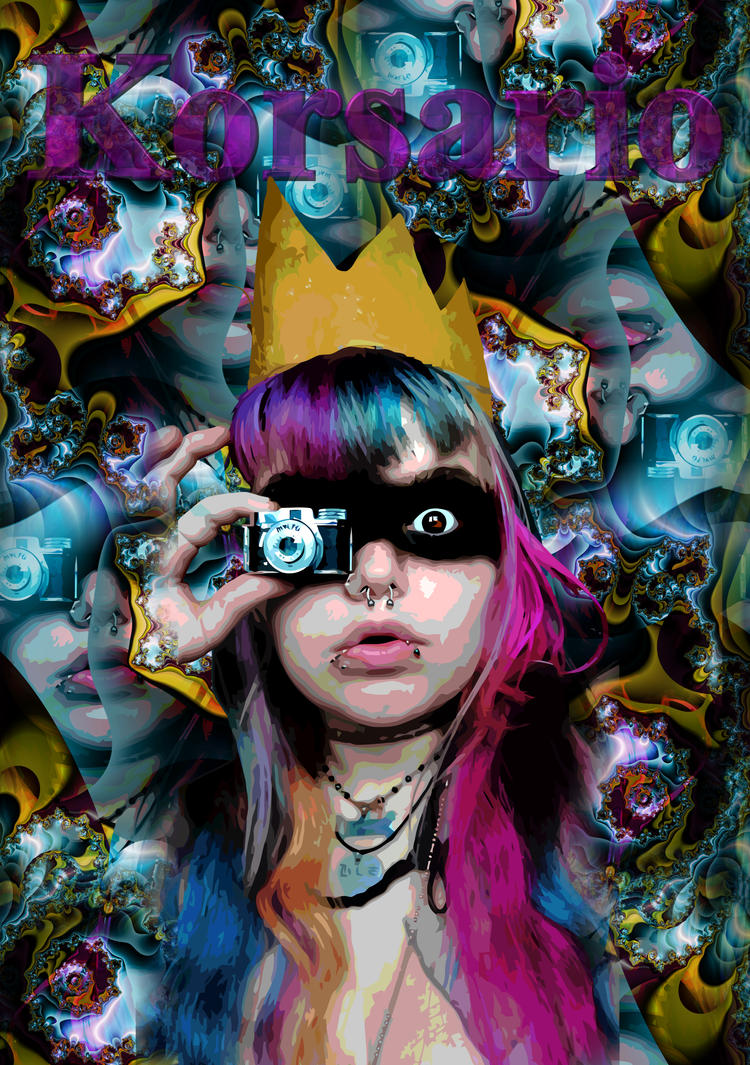 The queen of the psychedelic photo by ivankorsario