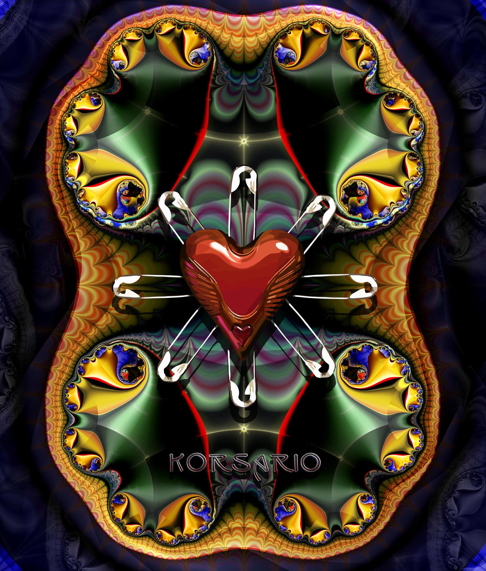 Valentine Day Fractal by ivankorsario