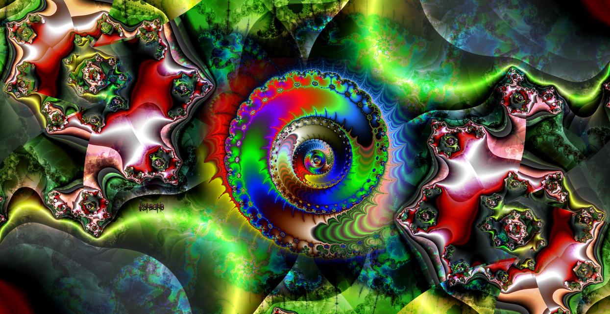 Sleep in acid colors by ivankorsario