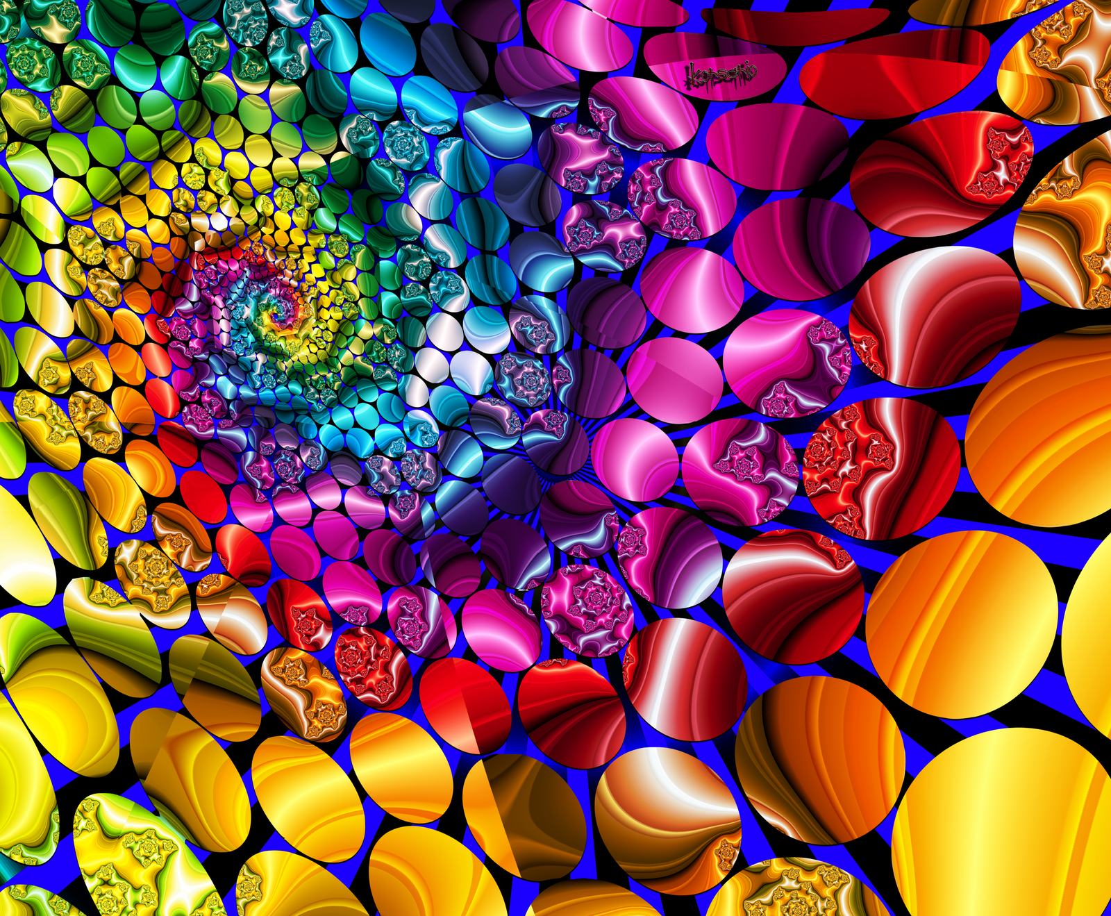 Atomic decomposition of a fractal by ivankorsario