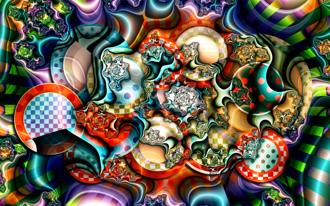 Pop Art Fractal by ivankorsario