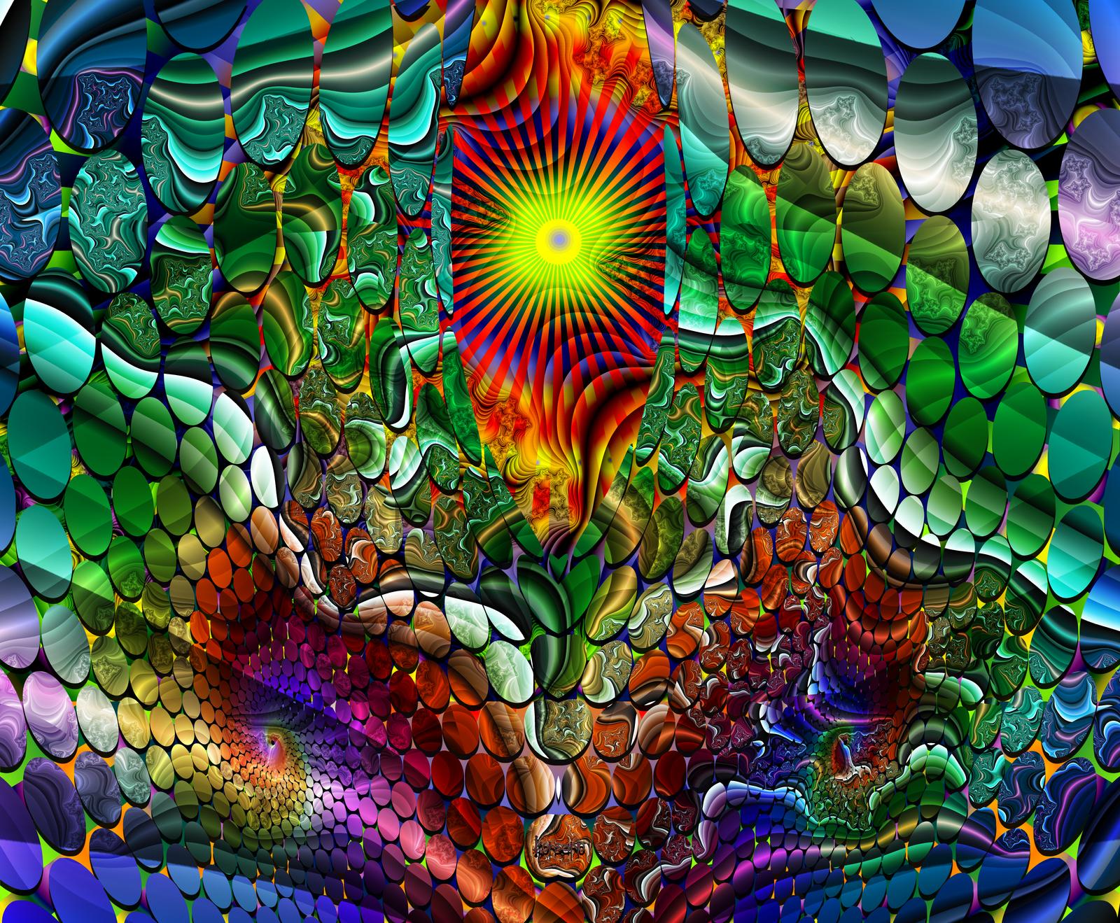 Landscape distorted by ivankorsario