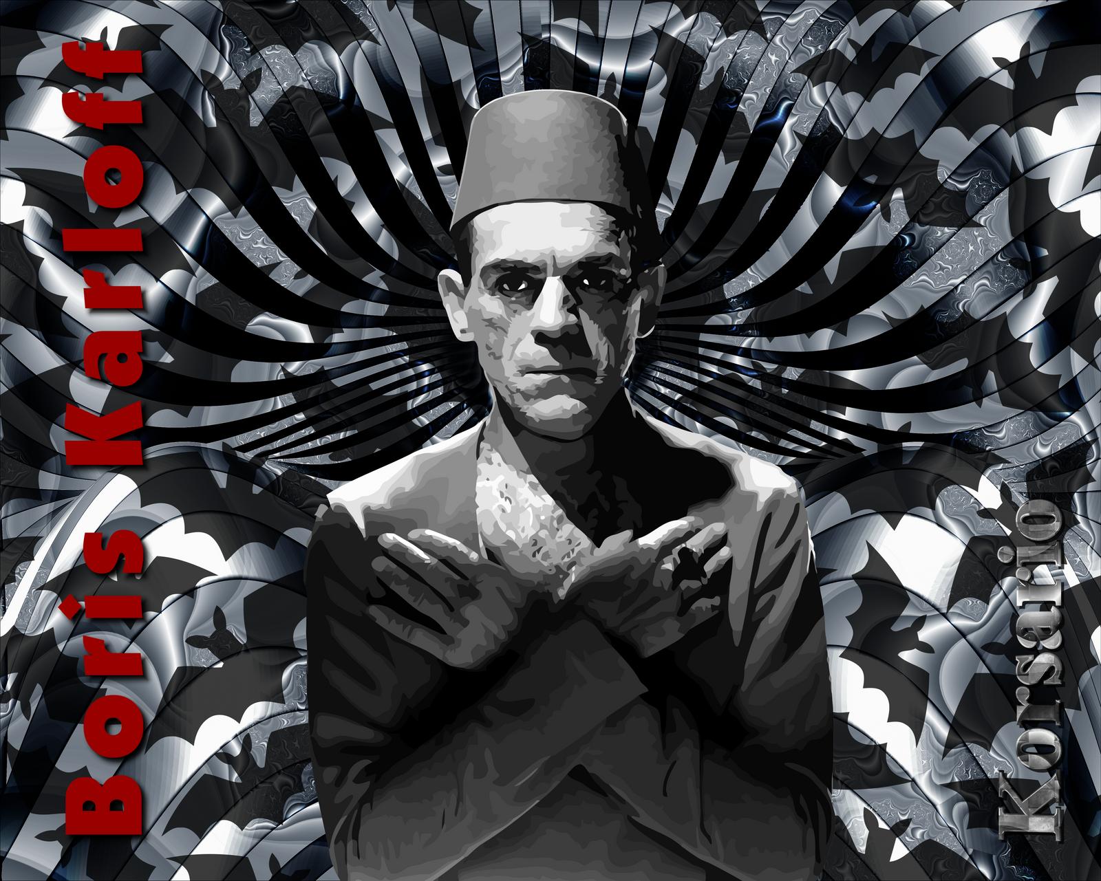 Boris Karloff by ivankorsario