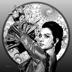 Lola Flores La Faraona by ivankorsario