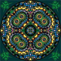Waiting for spring to arrive Mandala