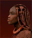 Himba Women of clay