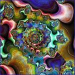 Aged colors fractal