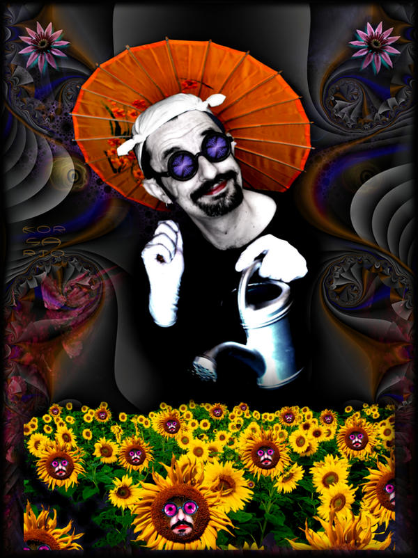 The happy gardener by ivankorsario