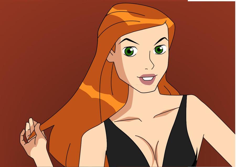 Gwen bombe sexuelle nue et souriante pour Metart