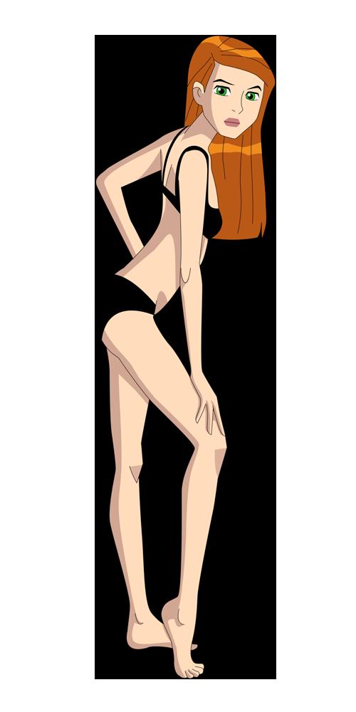 Gwen bikini ben ten