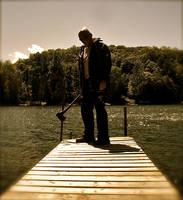 The Man at the Lake by Jovial-Jack