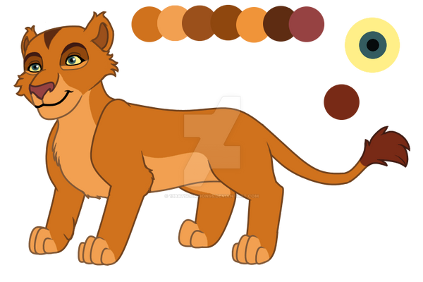 Lioness Adopt CLOSED by 13BatScorpion95