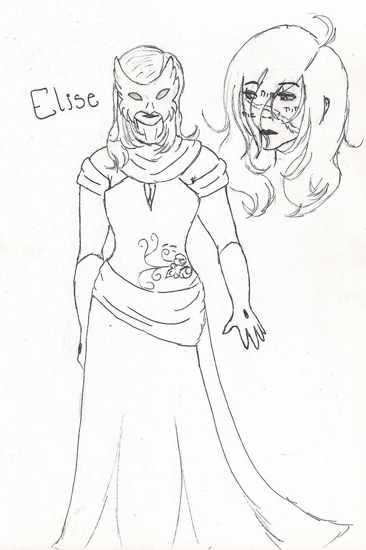 Cursed Elise by NiaraForever