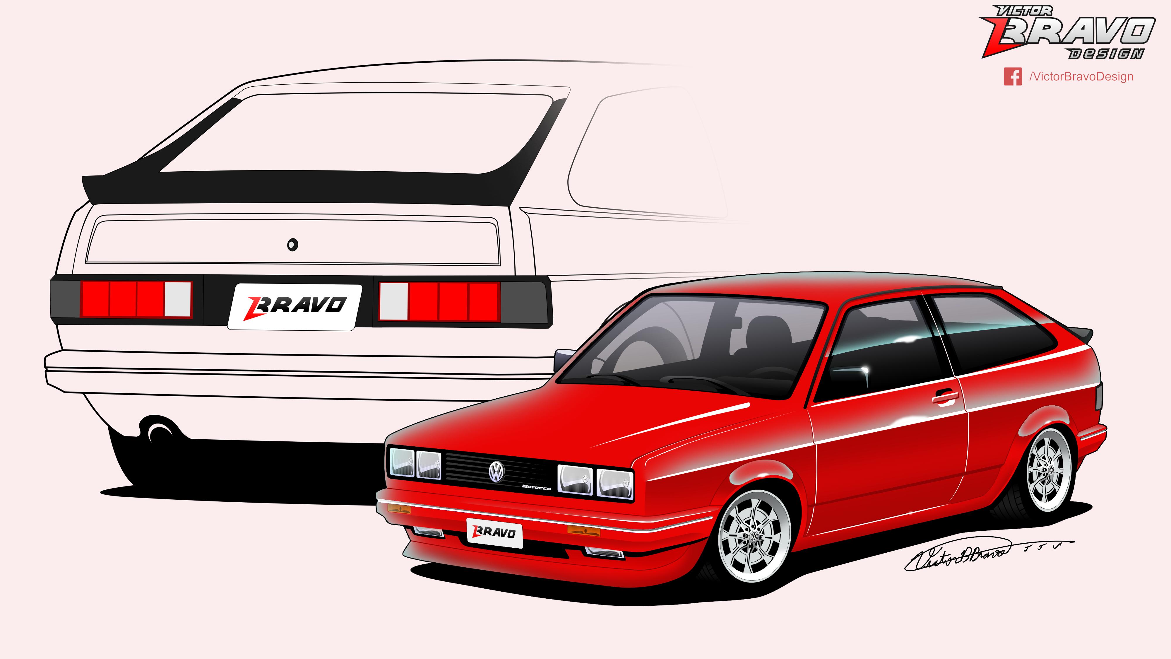 Drawing a Supercar - Desenhando um Carro esportivo - Sketch time lapse- rendering