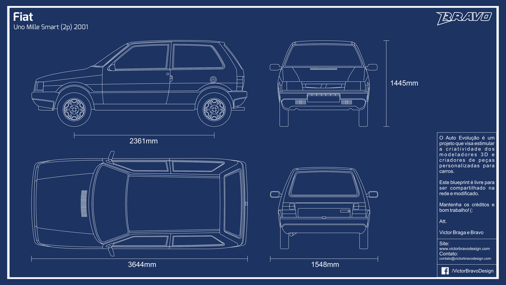 Blueprint fiat uno mille 2p 2001 by victorbravodesign on deviantart blueprint fiat uno mille 2p 2001 by victorbravodesign malvernweather Image collections
