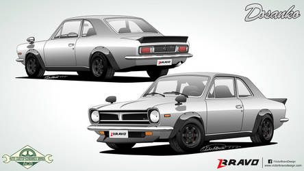 Ford Corcel ''Dosanko'' by VictorBravoDesign
