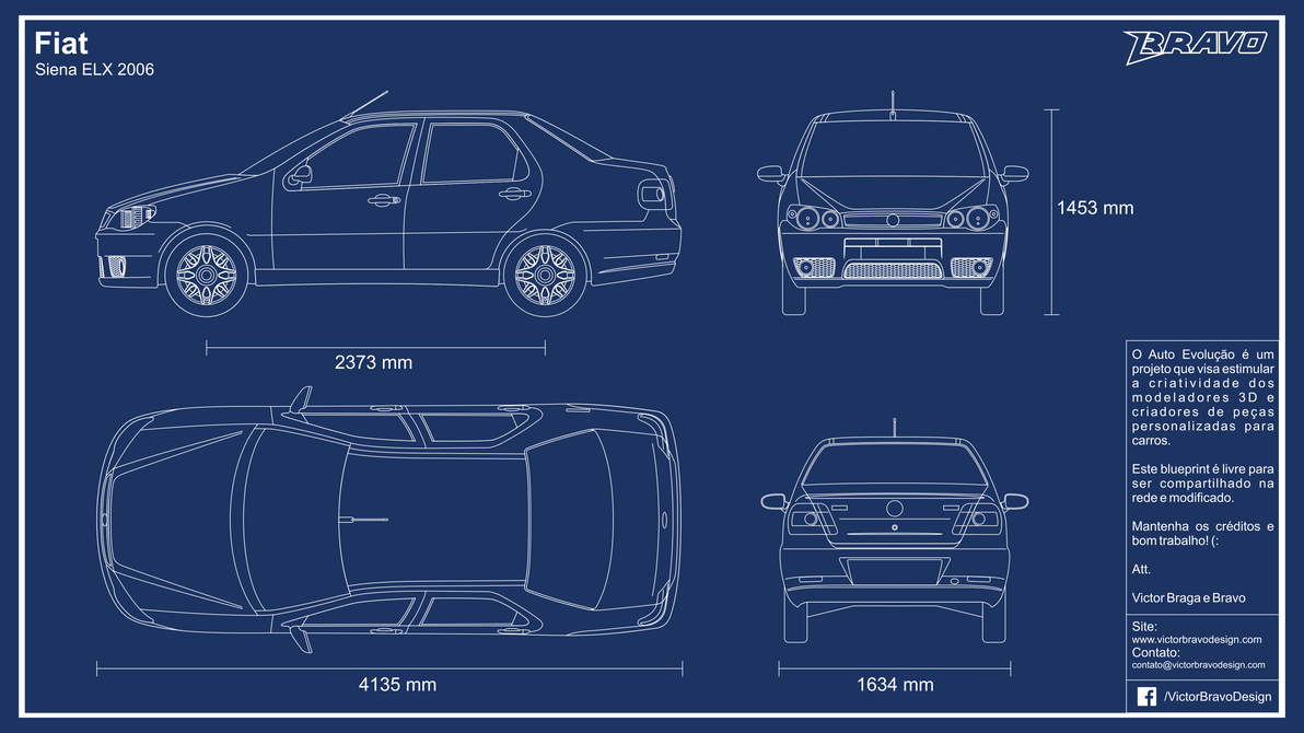 Blueprint fiat siena elx 2006 by victorbravodesign on deviantart blueprint fiat siena elx 2006 by victorbravodesign malvernweather
